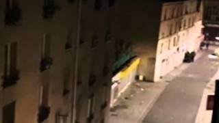 l'assaut à Saint Denis filmées par un riverain