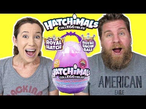 Hatchimals Colleggtibles Royal Snow Ball & Mega Secret Surprise
