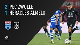 PEC Zwolle - Heracles Almelo | 16-09-2017 | Samenvatting