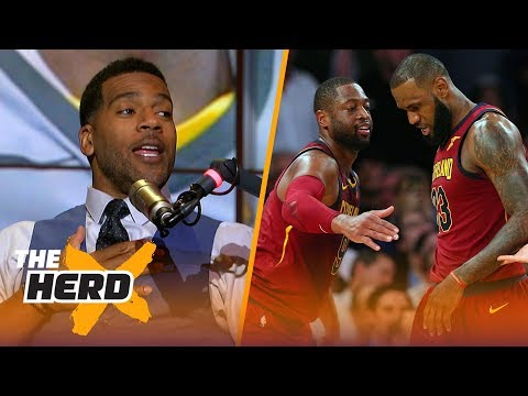 Former Cav Jim Jackson explores how LeBron told D-Wade he'd been traded to the Miami Heat | THE HERD