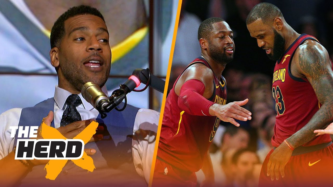 former-cav-jim-jackson-explores-how-lebron-told-d-wade-he-d-been-traded-to-the-miami-heat-the-herd
