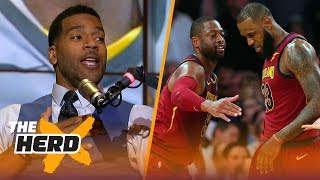 Former Cav Jim Jackson explores how LeBron told D-Wade he