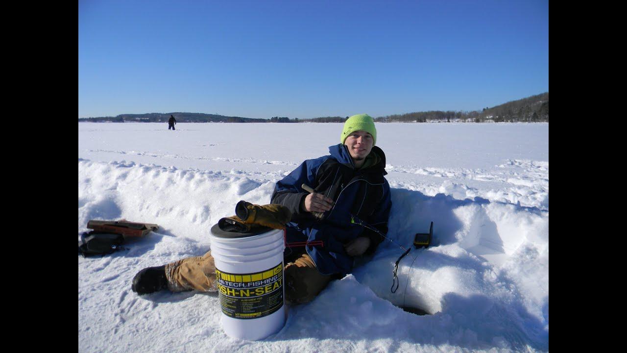 Lake Antoine Iron Mountain Michigan Jig It Ice Fishing