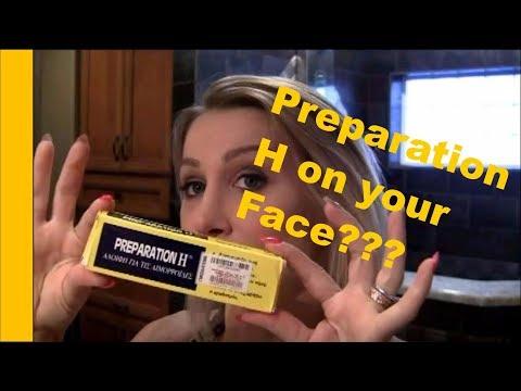 Beauty Secrets: Preparation H On Your FACE??