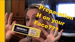 Beauty Secrets: Preparation H on your FACE??