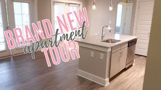 BRAND NEW APARTMENT TOUR | Simply Allie - Stafaband
