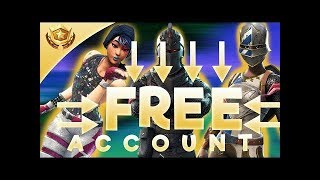 HOW TO GET FREE FORTNITE ACCOUNT and get free gg points