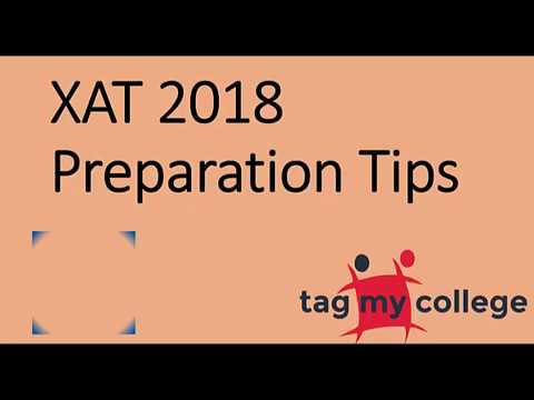 XAT 2018 Preparation Tips | XAT 2018 | Tagmycollege.com
