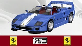 GAMEPLAY - OutRun 2006 Coast 2 Coast: Ferrari F40 Spider