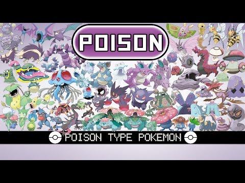 All Poison Type Pokémon