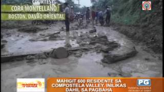 7 killed in Davao Oriental floods, landslides