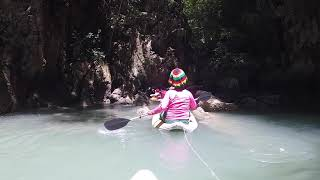 Canoeing Hong Island Phuket Thailand Oct 2018