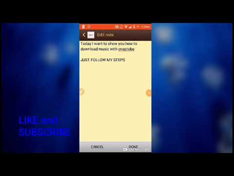 How to Download music and video in Snaptube