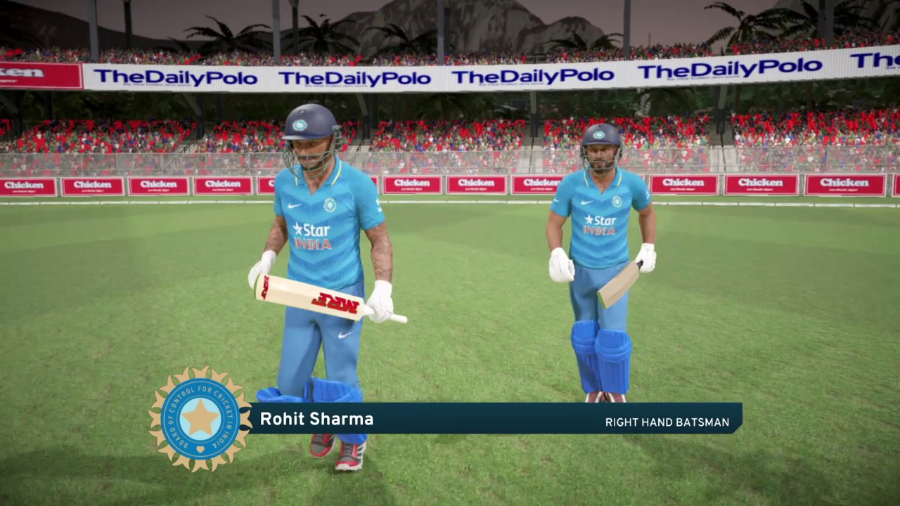 Ps4 Don Bradman Cricket 17 Five5 South Africa V India