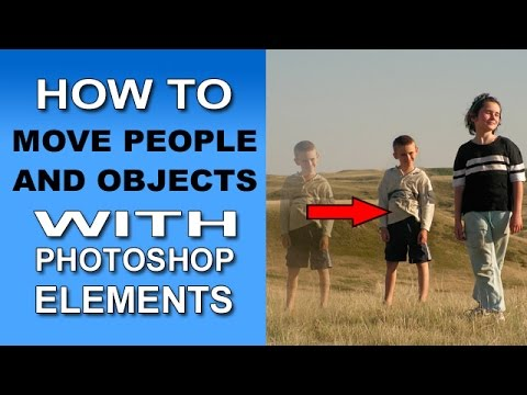 Photoshop Elements: Content Aware Move Tool