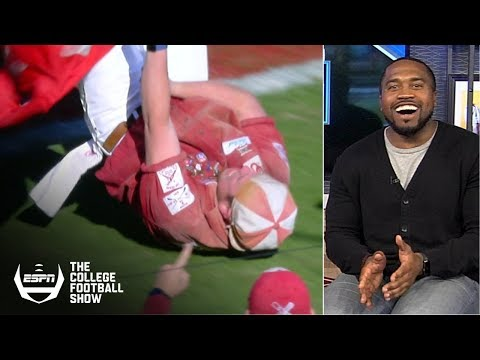 Great catches, runaway wagons lead college football Week 11's 'Holy Cow'  The College Football Show