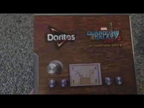 Unboxing DORITOS  Guardians Of The Galaxy vol 2 Soundtrack