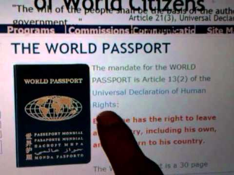 RASTAFARI MOVEMENT & WORLD CITIZENSHIP - World Service Authority (WSA)