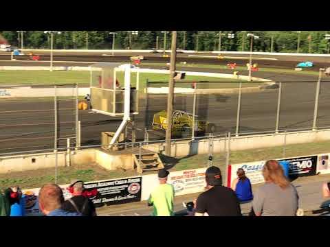 Billy Pauch Hot Laps @ Bridgeport Speedway on 7/18/18