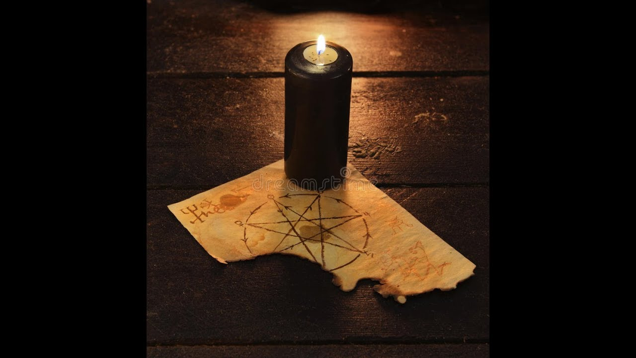 Как сделать черную свечу магия фото 762