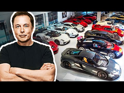 Elon Musk's Insane Car Collection