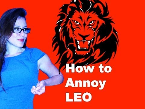 How to annoy leo youtube how to annoy leo ccuart Choice Image