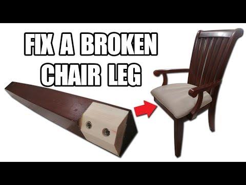 How to Fix a Broken Chair Leg