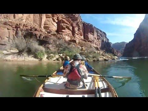 OV River Training | Wood Dory | Colorado River Rapids | Grand Canyon