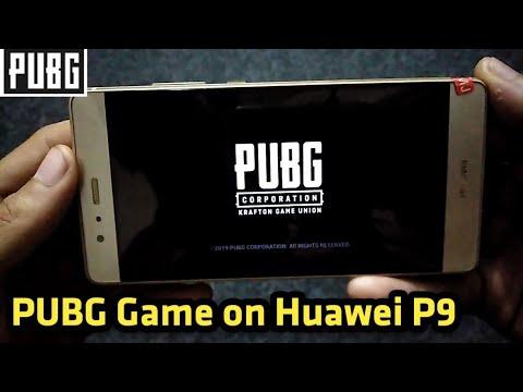 PUBG Mobile On Huawei P9