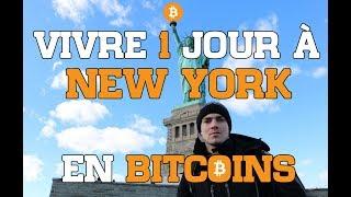 24H À NEW YORK QU'AVEC DES BITCOINS