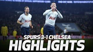 SONNY'S WONDER GOAL! HIGHLIGHTS | SPURS 3-1 CHELSEA