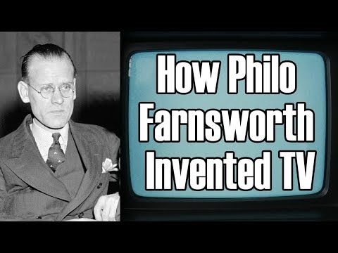 Philo Farnsworth and the Invention of Electronic Television