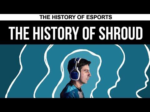 The History of Shroud - Born to Play   The History of ESPORTS (CS:GO PUBG)