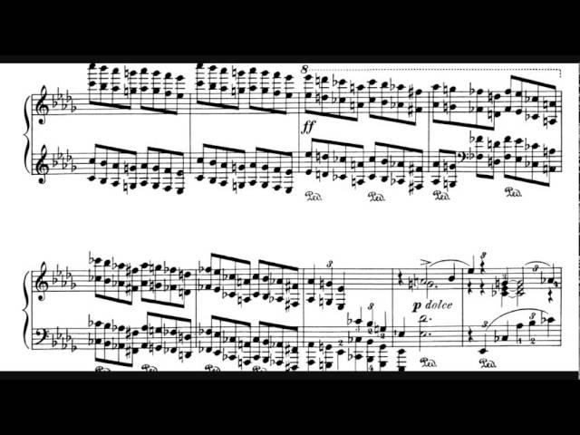 Piano Concerto No 1 Pyotr Ilyich Tchaikovsky With Score 1 2 Youtube