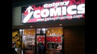 Galaxy of Comics Podcast:  October events at the Galaxy of Comics