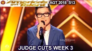 "angel garcia sings ""just the way you are"" spanish americas got talent 2018 judge cuts 3 agt"