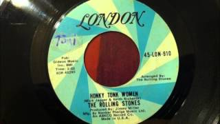 Honky Tonk Women , The Rolling Stones , 1969 Vinyl 45RPM