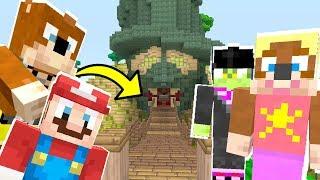 Mario Minecraft - Can Mario Survive The Evil Base?! [11]