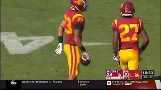Football: USC 35, Arizona State 38 - Highlights 10/27/18