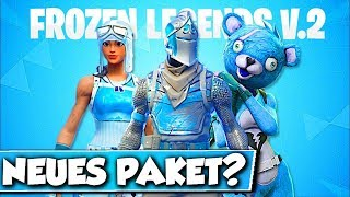 ❌NEUES FROZEN LEGENDS PACK 2 in FORTNITE?? 😱 - NO FROZEN BLACK RITTER in FORTNITE!!