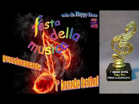KARAOKE FESTIVAL - happy hour - Via Roma, 26 - CANNA (cs)
