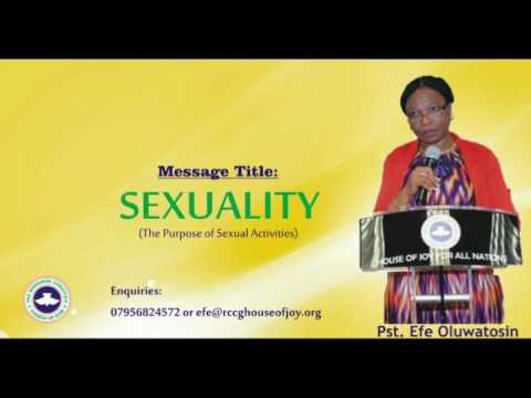 Sexuality - The Purpose of Sexual Activities