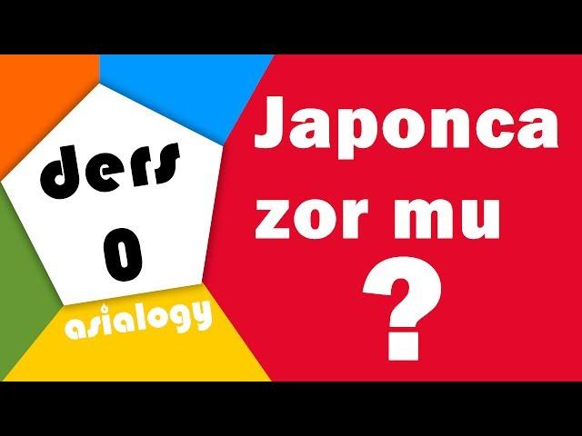 Japonca Zor mu? Niçin kanji kullan?yoruz? Japon Alfabesi