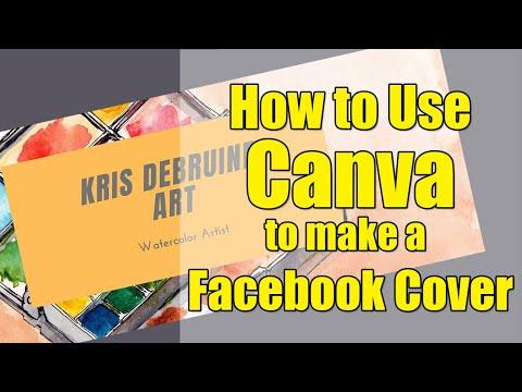 Create A Facebook Cover With Canva.com