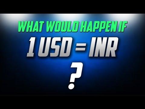 अगर 1 Rupee = 1 Dollar हुआ तो India में इसका क्या असर होगा
