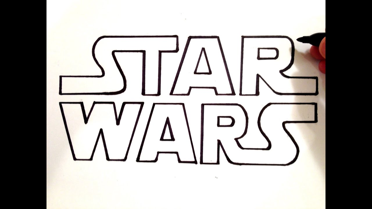 How to Draw STAR WARS YouTube