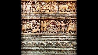 Jewellery of bricks, Gobinda and Shiva temple , Puthia, Bangladesh