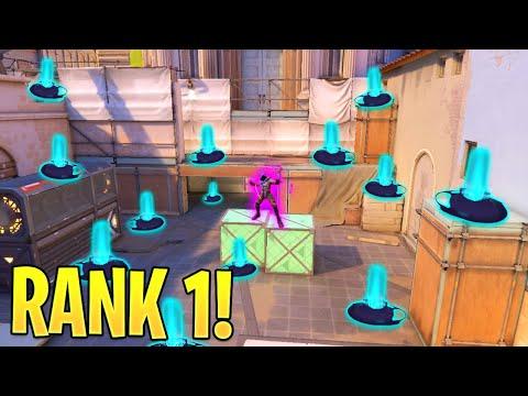 Valorant: What The RANK 1 OMEN Player Looks Like..!! - 200IQ Tricks U0026 Plays - Valorant Highlights