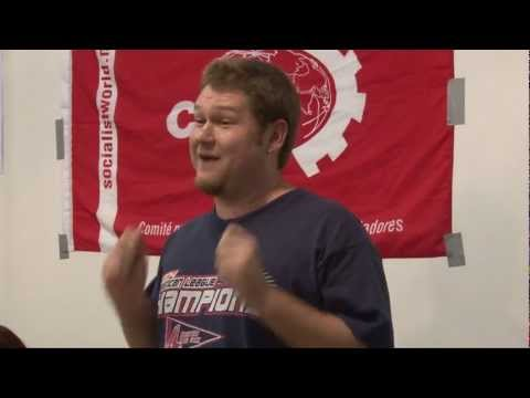 Occupy USA - Crisis USA - London Socialist Party video