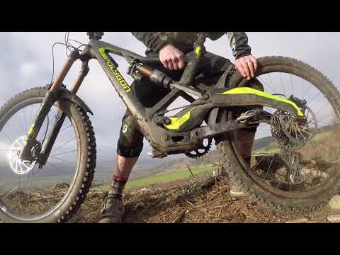 Polygon Xsquare One Freaky Fast Mountain Bike Tech Walk Round